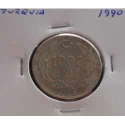 Turquia - 1000 Lira - 1990