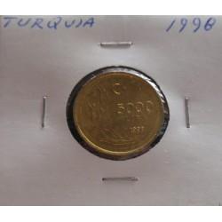 Turquia - 5000 Lira - 1998