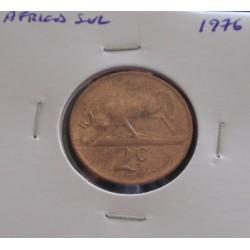 África do Sul - 2 Cents - 1976