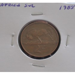 África do Sul - 2 Cents - 1985