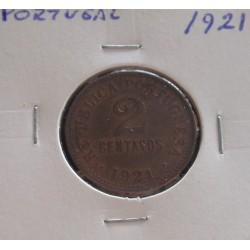 Portugal - 2 Centavos - 1921