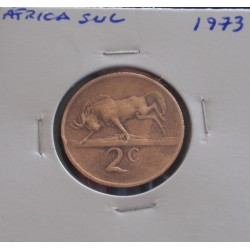 África do Sul - 2 Cents - 1973