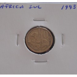 África do Sul - 10 Cents -...