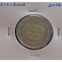 Lituânia - 2 Euro - 2016 -...