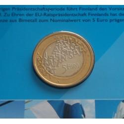 Finlândia - 5 Euro - 2006 -...