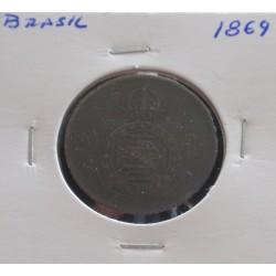 Brasil - 20 Réis - 1869