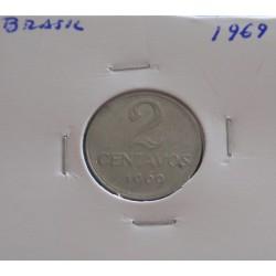 Brasil - 2 Centavos - 1969