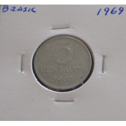 Brasil - 5 Centavos - 1969