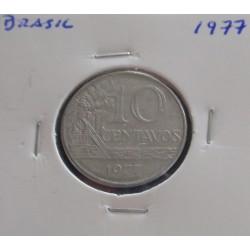 Brasil - 10 Centavos - 1977