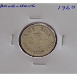 Hong - Kong - 10 Cents - 1960