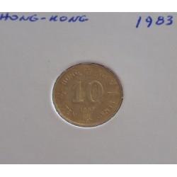 Hong - Kong - 10 Cents - 1983