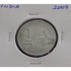 India - 1 Rupee - 2009