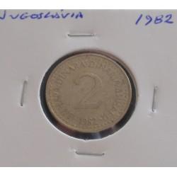 Jugoslávia - 2 Dinara - 1982