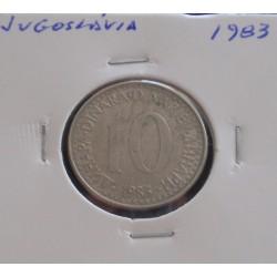 Jugoslávia - 10 Dinara - 1983