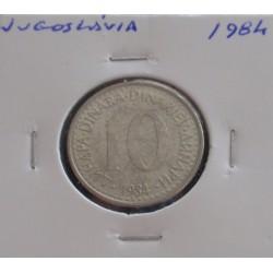 Jugoslávia - 10 Dinara - 1984