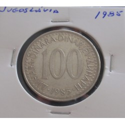 Jugoslávia - 100 Dinara - 1985