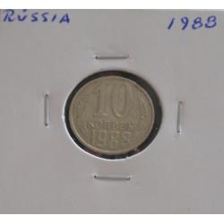 Rússia - 10 Kopeks - 1988