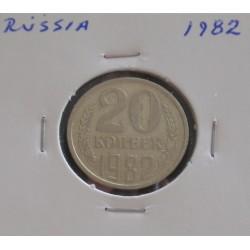 Rússia - 20 Kopeks - 1982