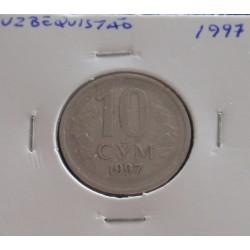 Uzbequistão - 10 Som - 1997