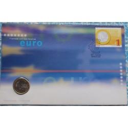 Portugal - 1 Euro - 2002 -...
