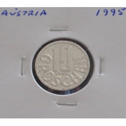 Aústria - 10 Groschen - 1995