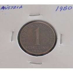 Aústria - 1 Schilling - 1980