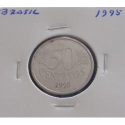 Brasil - 50 Centavos - 1995