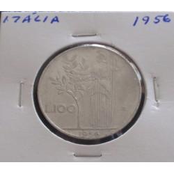 Itália - 100 Lire - 1956