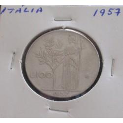 Itália - 100 Lire - 1957