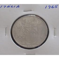 Itália - 100 Lire - 1965