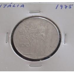 Itália - 100 Lire - 1975