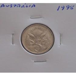 Austrália - 5 Cents - 1995