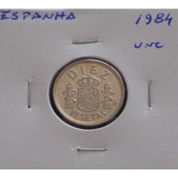 Espanha - 10 Pesetas - 1984...