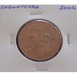 Inglaterra - 2 Pence - 2004