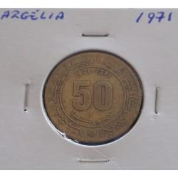 Argélia - 50 Centimes - 1971