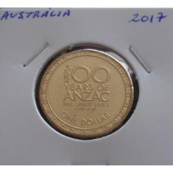 Austrália - 1 Dollar - 2017