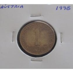 Aústria - 1 Schilling - 1998