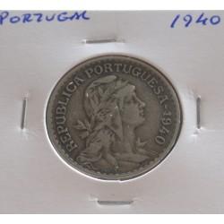 Portugal - 1 Escudo - 1940