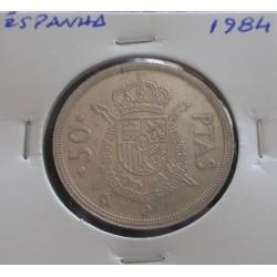 Espanha - 50 Pesetas - 1984
