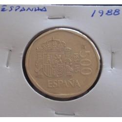 Espanha - 500 Pesetas - 1988