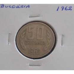 Bulgária - 50 Stotinki - 1962
