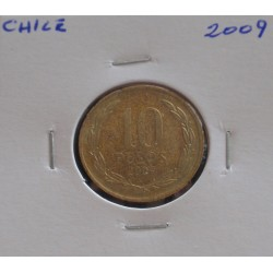 Chile - 10 Pesos - 2009