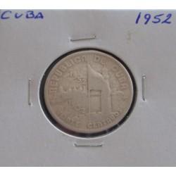Cuba - 20 Centavos - 1952 -...