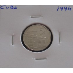 Cuba - 5 Centavos - 1994
