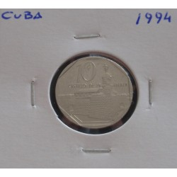 Cuba - 10 Centavos - 1994