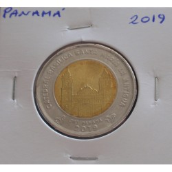 Panamá - 1 Balboa - 2019 -...