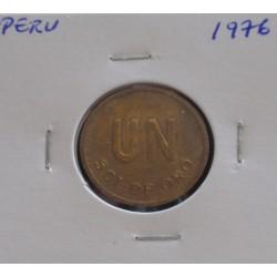 Peru - 1 Sol de Oro - 1976