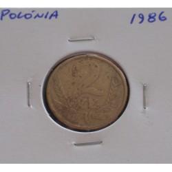 Polónia - 2 Zlote - 1986