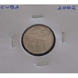 Cuba - 5 Centavos - 2002