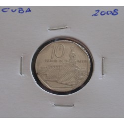 Cuba - 10 Centavos - 2008